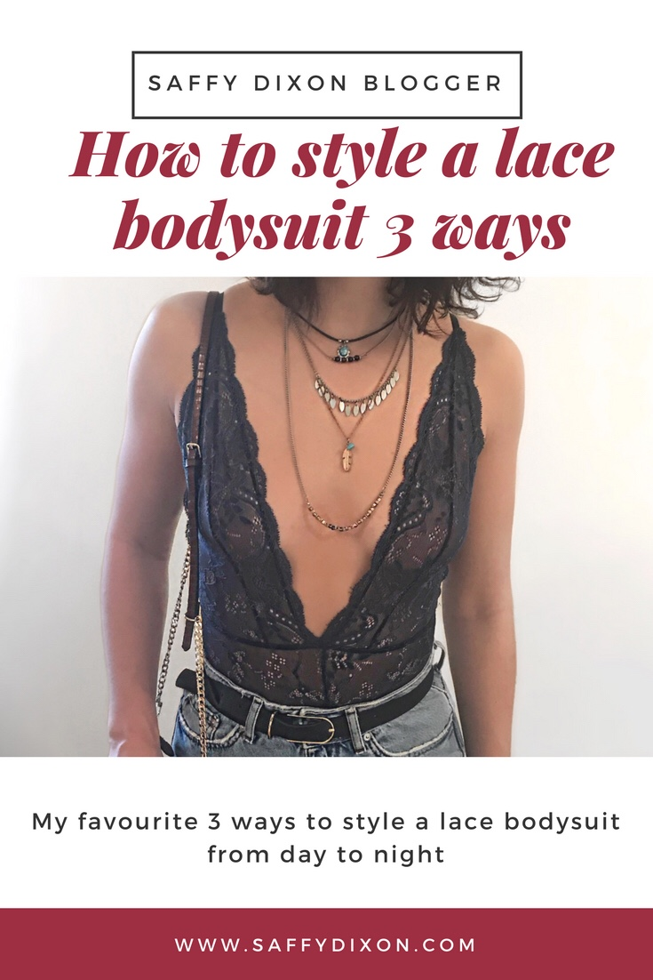 how to style a lace bodysuit 3 ways
