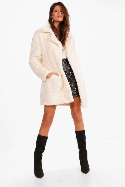 White / Pink Coat of Dreams