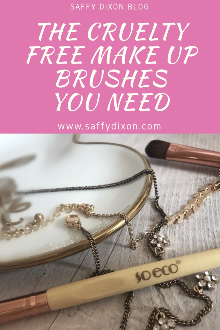the cruelty free make up brushes you need in your make up bag