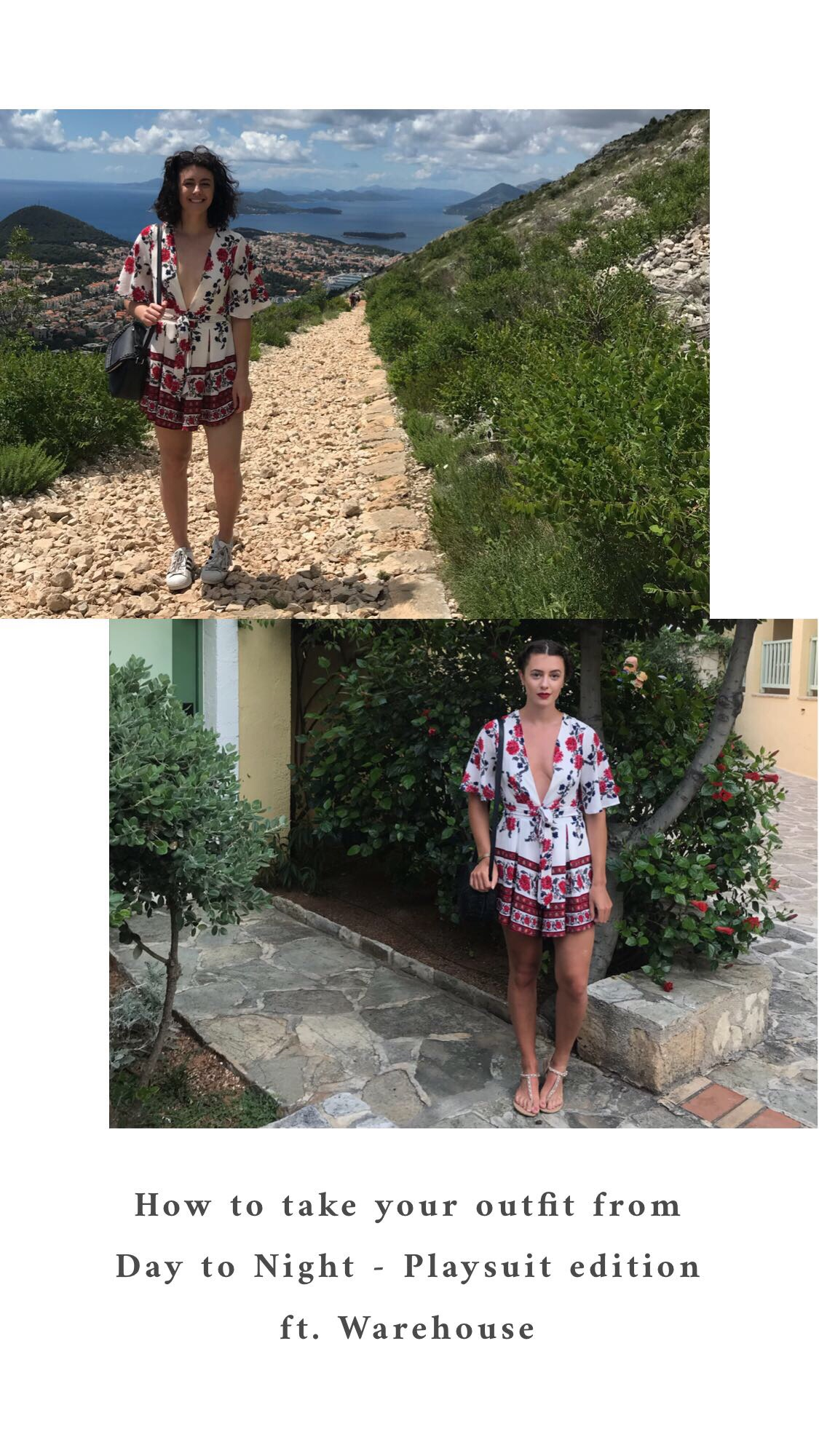 How to take your outfit from day to night - playsuit edition ft. Warehouse